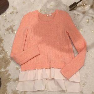 Peach Sweater by Moth